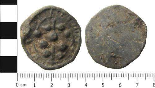 SWYOR-AA9243: Medieval or Post Medieval Token