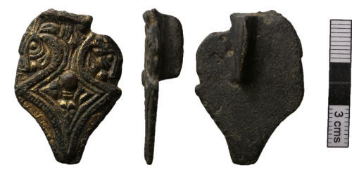 NMS-CD5994: Early Medieval Great Square Headed Brooch