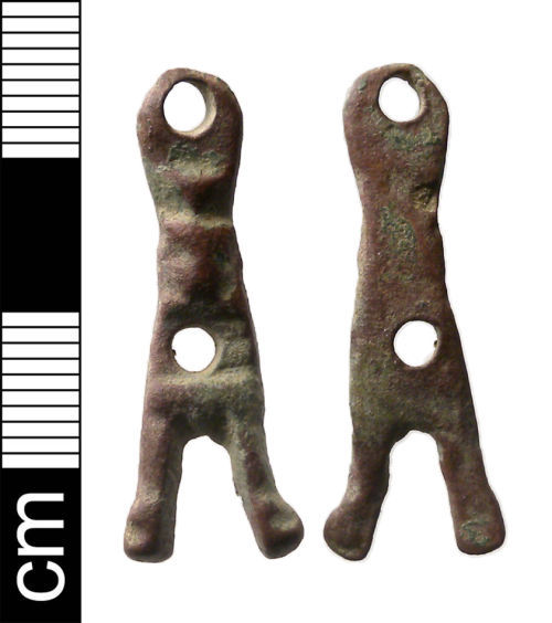 NMS-3712D7: Early Medieval Strap Fitting