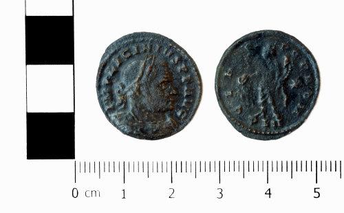 ASHM-84628B: Roman coin; nummus of Licinius