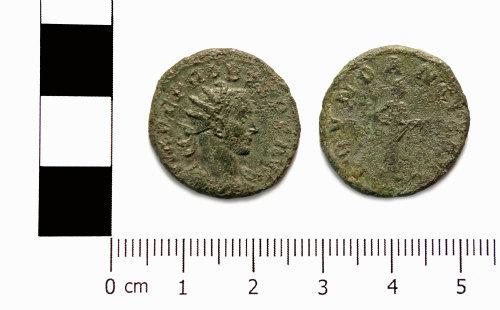 ASHM-B1334E: Roman coin; radiate of Probus