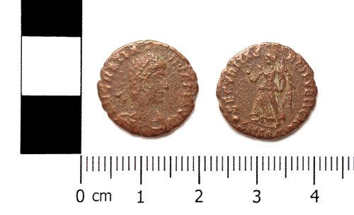 ASHM-DDB18E: Nummus of Gratian