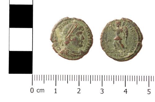 ASHM-E23515: Nummus of Valentinian I