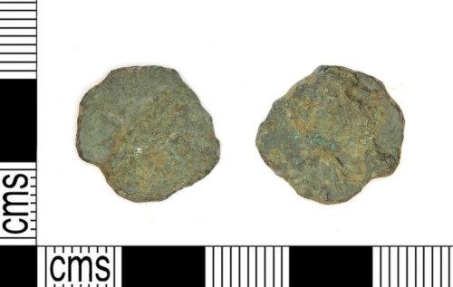 LEIC-2A1951: Roman copper alloy radiate of uncertain ruler