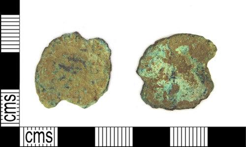 LEIC-29D6D3: Roman copper alloy radiate (uncertain ruler)