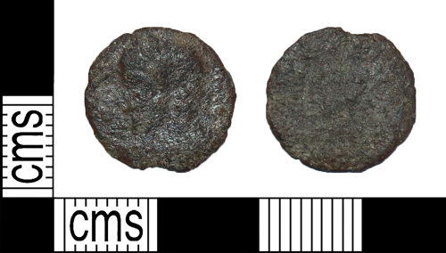 BH-03062E: Roman coin: nummus of unknown emperor