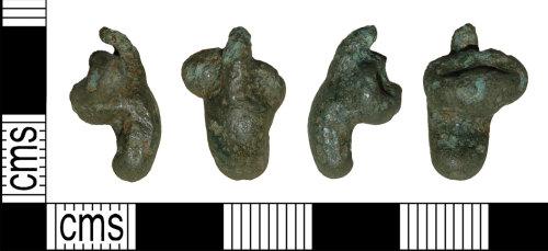 BH-0947E1: Roman brooch