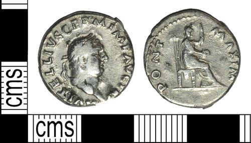 BH-1528B9: Roman coin: denarius of Vitellius