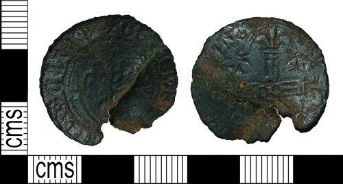 BH-37130B: Medieval jetton of French origin