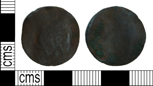 BH-375CDF: Post-Medieval trade token farthing (possibly)