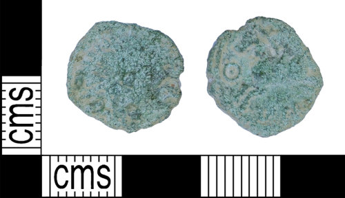 BH-438173: Iron Age coin: unit of Tasciovanus
