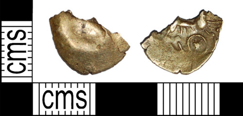 BH-44DB78: Iron Age coin: contemporary copy of a stater