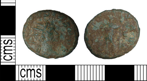 BH-49EDEC: Roman coin: radiate of Claudius II