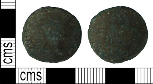 BH-4A03E3: Roman coin: radiate of Claudius II