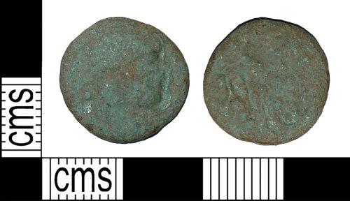 BH-4A8DC5: Roman coin: nummus of Valentinian I