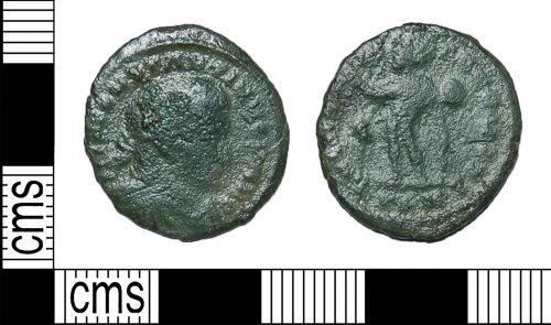 BH-5AF740: Roman coin: nummus of Constantine I