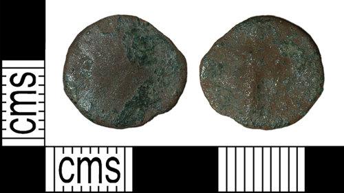 BH-67CD6A: Roman coin: radiate or nummus of an uncertain emperor
