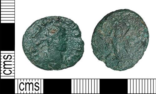 BH-7BD97E: Roman coin: radiate of Allectus