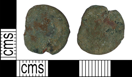BH-843F1F: Roman coin: nummus of the House of Valentinian