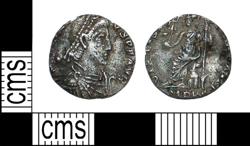 BH-8AEC0A: Roman coin: siliqua of Honorius