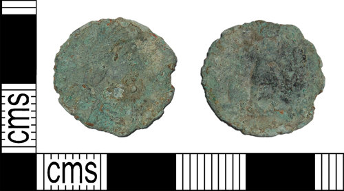 BH-941FF6: Roman coin: nummus of the House of Valentinian