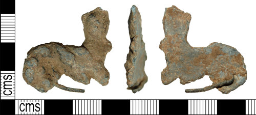 BH-A29767: Medieval or Post Medieval badge or mount (possibly)