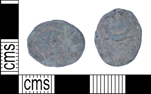 BH-BDB309: Roman coin: barbarous radiate of an uncertain emperor dating AD 260-296