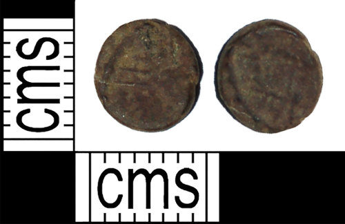 BH-C75A98: Roman coin: barbarous radiate (minim type) dating AD 275 to 285