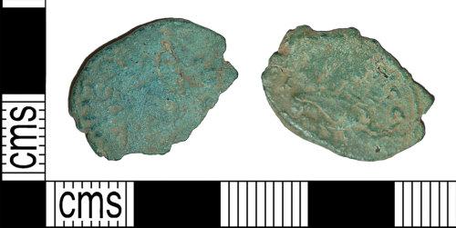 BH-DC4D8A: Roman coin: radiate of Tetricus I