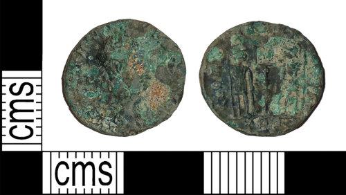 BH-DD2E8E: Roman coin: nummus of the House of Constantineh
