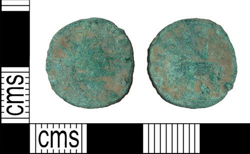 BH-DE3874: Roman coin: barbarous radiate of Divus Claudius II