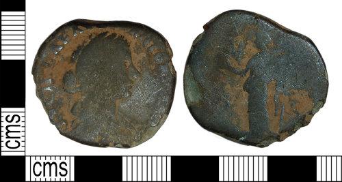 BH-1AABEE: Roman coin: silver denarius of Elagabalus