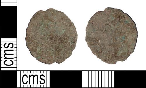 BH-A4BA42: Roman coin: nummus of the House of Valentinian