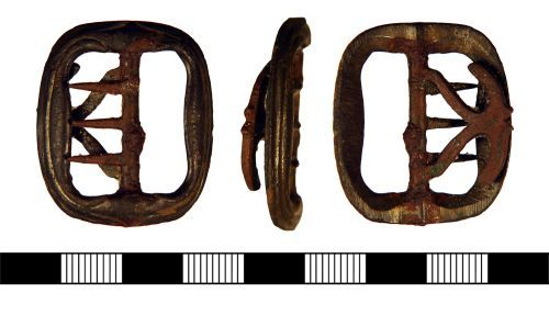 NLM-6279B4: Post Medieval Buckle