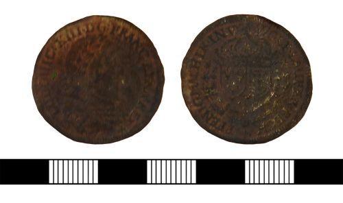 NLM-66F533: Post Medieval Jetton