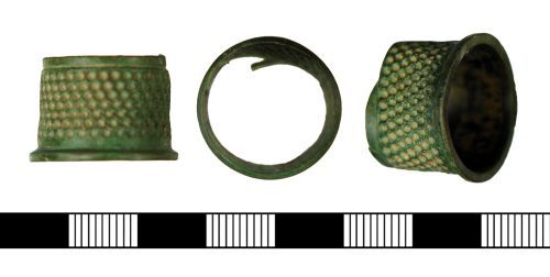 NLM-397BE0: Thimble from Middle Rasen