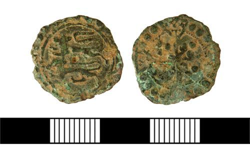 NLM-860FE3: Anglo-French Jetton from Aby with Greenfield