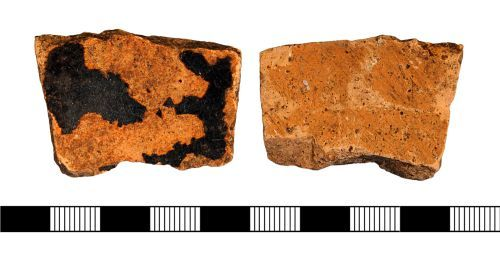 NLM-A0BA52: Blackware sherd from Messingham