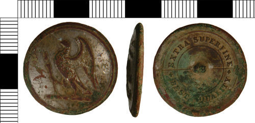 NLM-365AD4: Button from Barton upon Humber