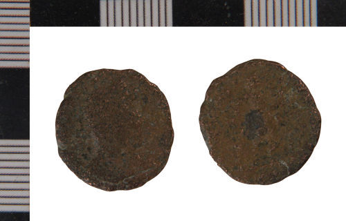 NLM-2F6D95: Nummus of Valentinian I from Middle Rasen
