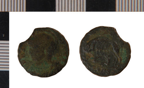 NLM-3499E7: Nummus of House of Constantine from Middle Rasen