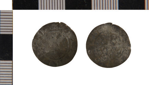 NLM-96AEC4: Penny of Edward II from Binbrook