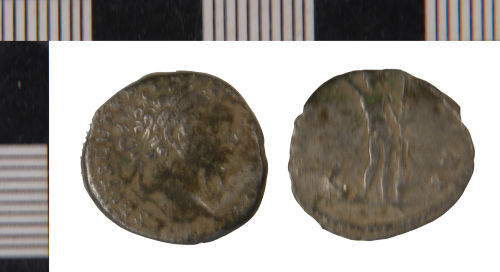 NLM-EC2225: Denarius of Septimius Severus from Winteringham