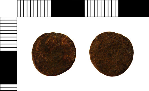 A resized image of Roman Coin: Nummus of Constantius II