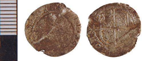 NLM-ABDDAC: Post-Medieval Coin: Threehalfpence or Halfgroat of Elizabeth I