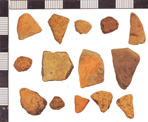 NLM-F9BDEC: Medieval Pot sherds