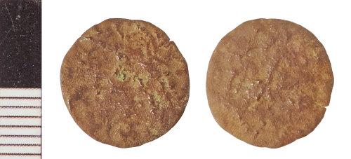 NLM-606797: Roman Coin: Radiate or Nummus indeterminate