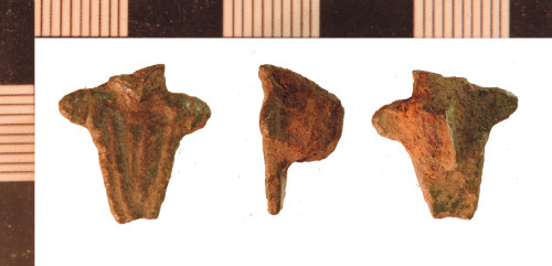 NLM-DA8F75: Undated Brooch fragment