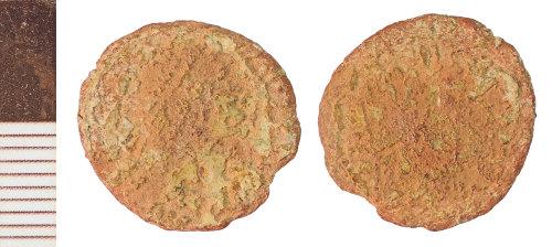 NLM-A852FD: Roman Coin: Nummus of House of Constantine