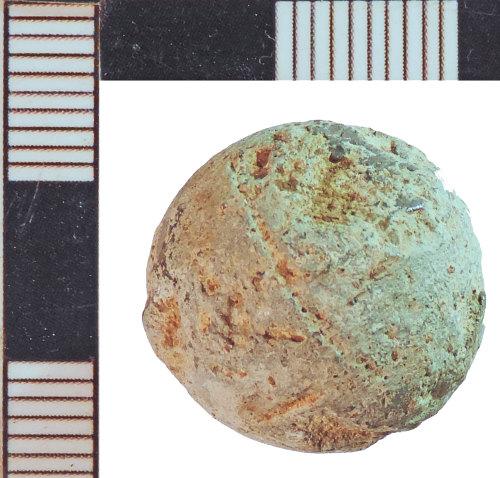 NLM-DF3B56: Post-Medieval Musket Ball